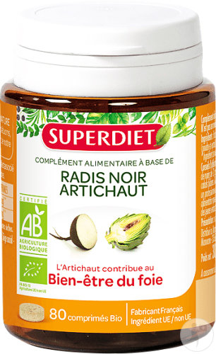 Super Diet Rammenas - Artisjok Bio 80 Tabletten