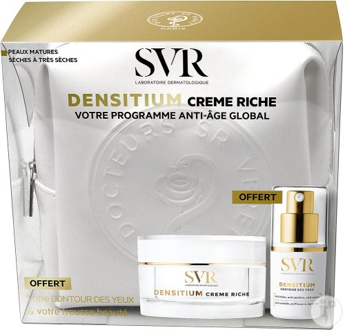 SVR Densitium Beauty Case Rijke Crème Pot 50ml + Eye Contour 15ml