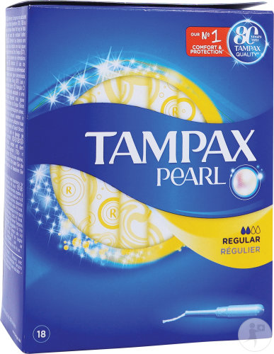 Tampax Pearl Regular 18