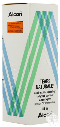 Tears Naturale Collyre 15ml