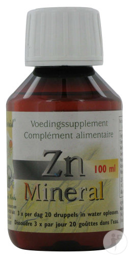 The Herborist Zn-Mineral Fles 100ml (0807a)