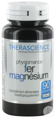 Therascience Physiomance Ijzer Magnesium Comp 90 Phy274