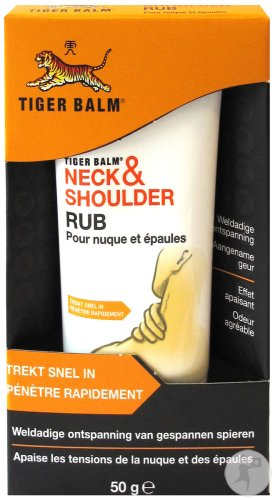 Tiger Balm Neck & Shoulder Rub Crème 50g