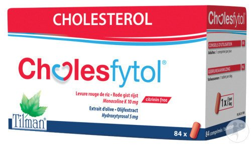 Tilman Cholesfytol 84 Tabletten