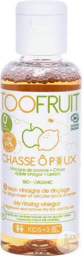 Toofruit Chasse O Poux azijnoplossing spoel. 100ml