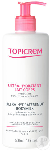 Topicrem Ultra Hydraterende Lichaamsmelk 500ml