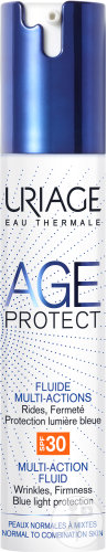 Uriage Age Protect Multi-Actie Fluid SPF30 Airless Fles 40ml