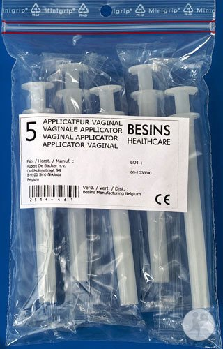 Vaginale Applicatoren Besins Healthcare 5 Stuks