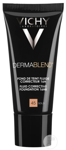 Vichy Dermablend Corrigerende Foundation 16h Gold 45 Tube 30ml Newpharma