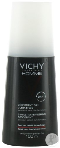 Vichy Homme Deodorant Spray Ultra-Fris 100ml