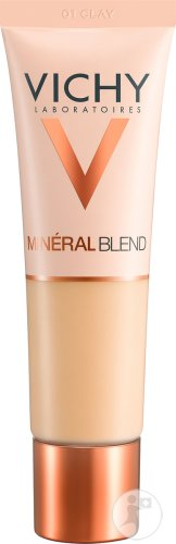 Vichy Minéralblend Hydraterende Foundation 01 Clay Tube 30ml