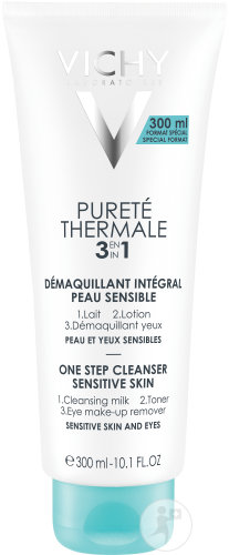 Vichy Pureté Thermale 3 In 1 Make-Up Verwijderaar Tube 300ml