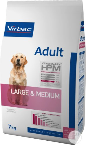 Virbac Adult Dog Large & Medium 7kg