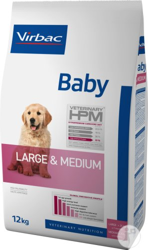 Virbac Baby Dog Large & Medium 12kg