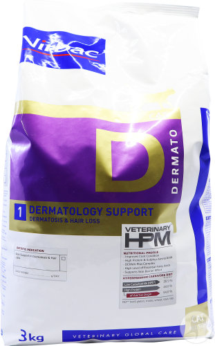 Virbac Cat Dermatology Support D1 3kg