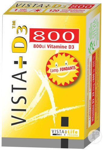 Vista D3 800 Ultra 120 Smelttabletten