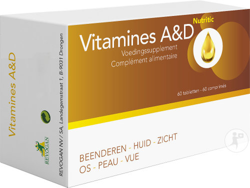 Vitamines A & D 60 Tabletten (7387)
