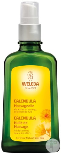 Weleda Massage Olie Calendula Fles 100ml
