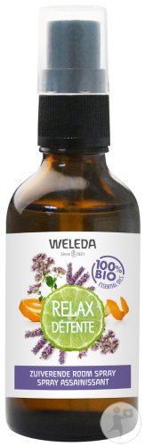 Weleda Relax Ontspanning Zuiverende Room Spray 50ml