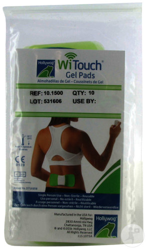 WiTouch Pro Gel Pads 10 Stuks