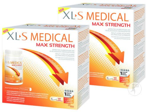 XLS Medical Max Strength Duopack 2x120 Tabletten
