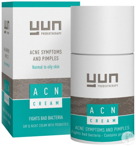 Yun Probiotherapy ACN Crème Pompfles 50ml