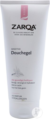 Zarqa Sensitive Douchegel Alle Huidtypen Tube 200ml