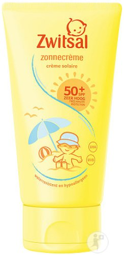 Zwitsal Zonnecreme SPF50+ Baby Lotion Tube 150ml
